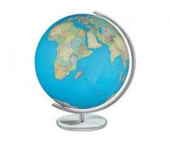 CBSE : Class IV: Geography : Chapter 2 : Globe : Latitude and Longitude : What is a globe ?