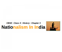 CBSE : Class X : History : Nationalism In India : What was the notion of Swaraj according to plantation workers ? How did they react to it ?