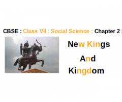CBSE : Class VII : Social Studies : Chapter 2 : New Kings and Kingdoms :  How did river Kaveri bring prosperity to the Chola Kingdom ?