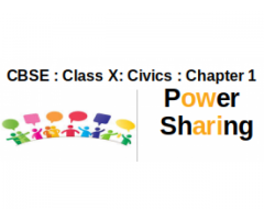 CBSE : Class X : Civics : Chapter 1 : Power Sharing : What does the sharing of power among political parties, pressure groups and movement groups ensure ?