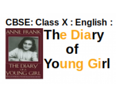 CBSE : Class X : English : Novel : The Diary of Young Girl : Give a character sketch of Anne Frank.