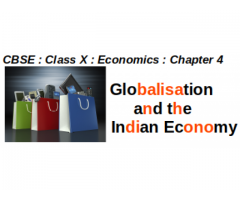 CBSE - CLASS X - Economics -- Chapter 4 : Globalisation and the Indian Economy :  How is information technology connected with globalisation? Would  globalisation have been possible without expansion of IT?