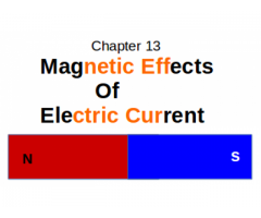 CBSE : Class X : Science : Chapter 13 : Magnetic Effects of Electrical Current : What are magnetic field lines ?