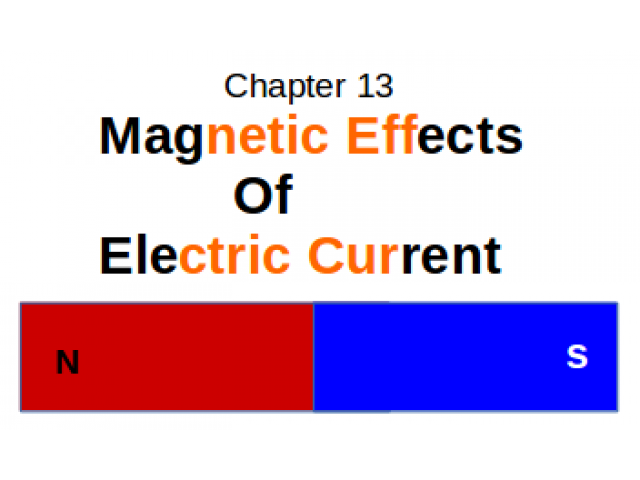 CBSE : Class X : Science : Chapter 13 : Magnetic Effects of Electrical Current : Define Flemings Left hand Rule.